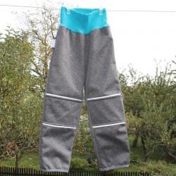 Kalhoty SOFTSHELL ŠEDÝ I