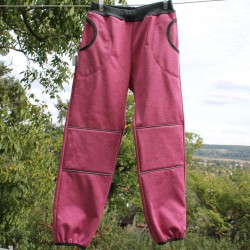 Kalhoty SOFTSHELL RŮŽOVÝ VI