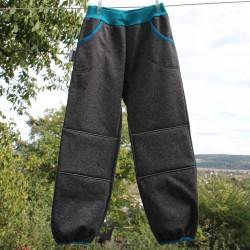 Kalhoty SOFTSHELL ŠEDÝ VI