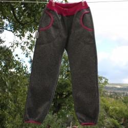 Kalhoty SOFTSHELL ŠEDÝ VIII