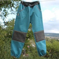 Kalhoty SOFTSHELL TYRKYS VII