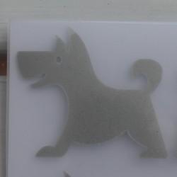 Reflexní nažehlovačky - psi