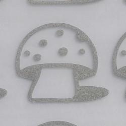 Reflexní nažehlovačky -  houby