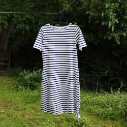 Šaty ČERNÝ PRUH